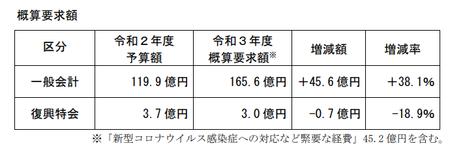 消費者庁予算案R3年度_要求額.png